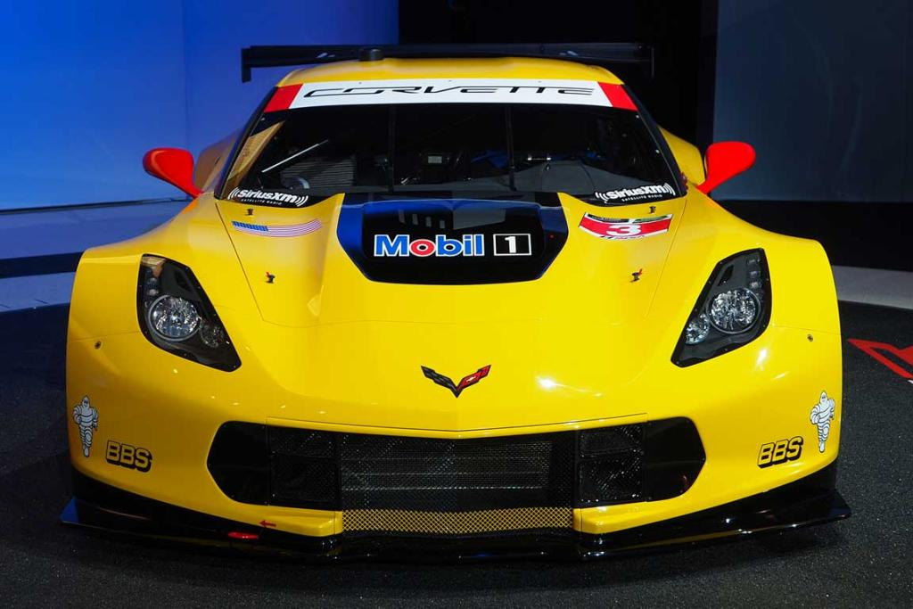Chevrolet Corvette Stingray C7.R racing version.