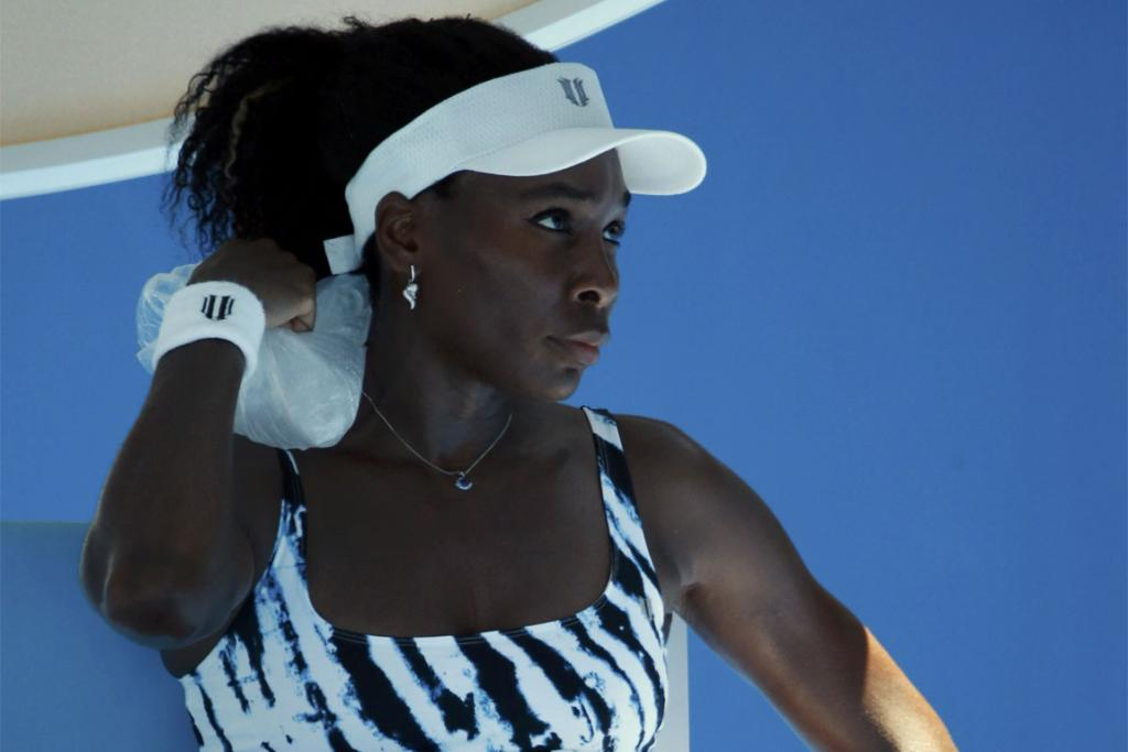VENUS WILLIAMS: bowed out early in the first round.