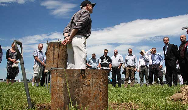 Professor Keith Cameron from Lincoln University describes the use of lysimeters to monitor nitrate leaching on a Ngai Tahu Farming dairy farm at Eyrewell in North Canterbury.