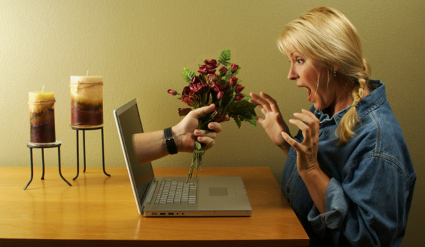 SCARED OF ONLINE DATING?: Sorry, this picture probably won't help, but this article might.
