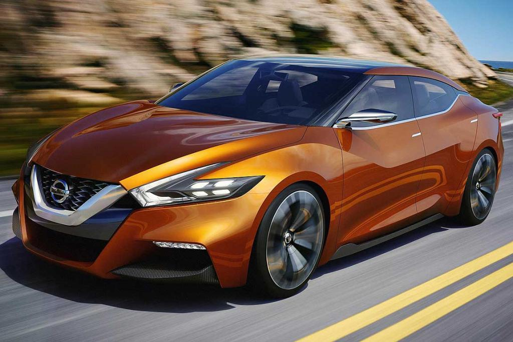 Nissan's Sports Sedan Concept, unveiled at the Detroit Auto Show, delivers a strong hint at the new generation Maxima.