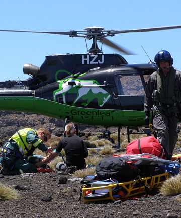 Taupo's Greenlea Rescue Helicopter