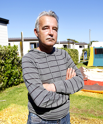 MOVING ON: Fitzroy Beach Holiday Park lessee Jeff Watson's time at the camp is up in June.