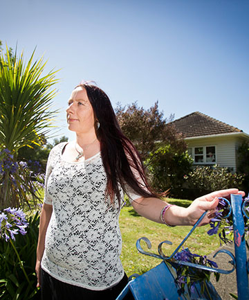 HEROIC ACT: Mother of two Tamsin Duckmanton saved two young children she didn't know by plucking them from a burning van.