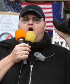 INTERNET PARTY: Mega founder Kim Dotcom has unveiled his own political party.