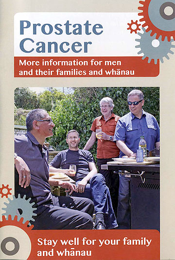 Ministry of Health prostate cancer brochure
