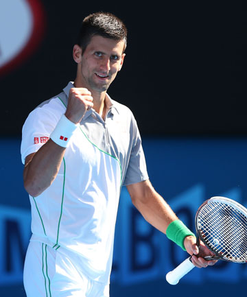 TOO EASY: Novak Djokovic breezed through his fourth round matchup and looks odds-on favourite to make it through to the final of the Australian Open.