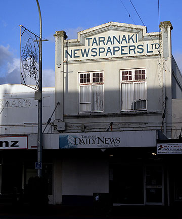 Taranaki Daily News building