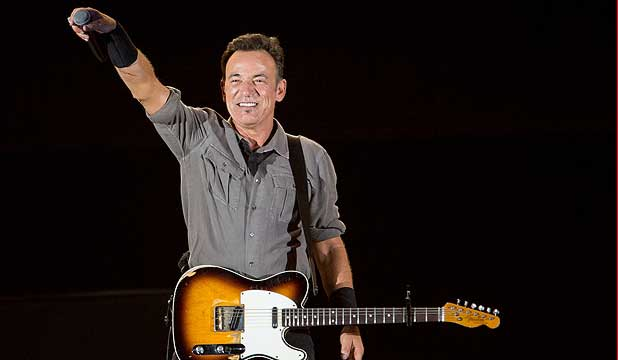 In a 'you heard it here first' move ... Bruce Springsteen and the E Street Band to give concertgoers the chance to download each concert they attend in an instant album.