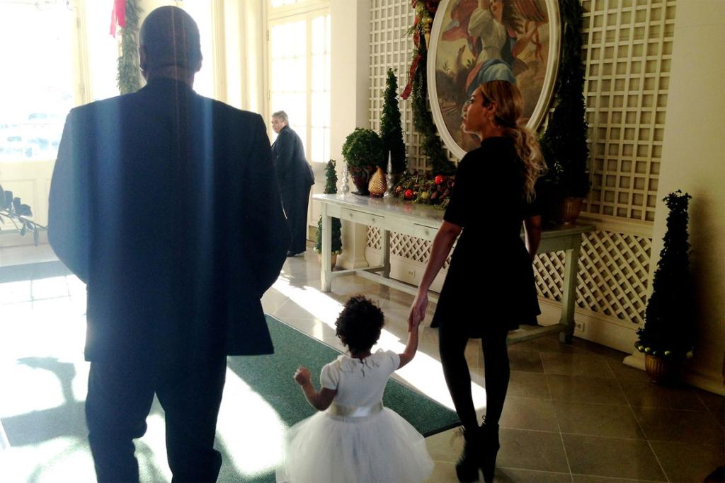 Beyonce took blue Ivy for a tour of the White House.