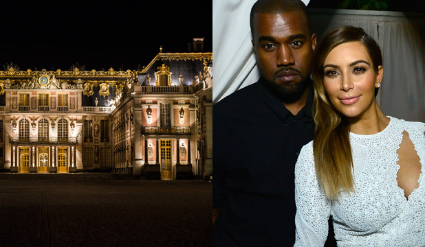 DENIED: Kim and Kanye's dream venue has fallen through.
