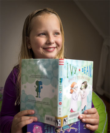 BOOKWORM: Hannah Fail has noticed a lot of changes since taking part in Palmerston North City Library's Summer Reading Programme, including a new favourite genre, girls' adventure.
