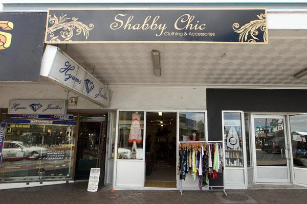 Quality shows: Shabby Chic in Te Awamutu aims for a boutique-like experience.