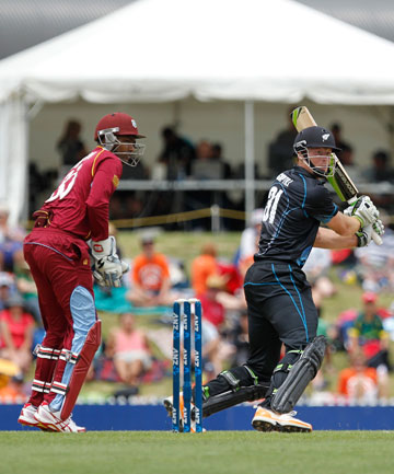 VENUE SATISFACTORY: The fourth one-day international between the West Indies and Black Caps at Saxton Oval earlier this month gave the West Indies some insight about the venue they will be playing at in next year's World Cup.