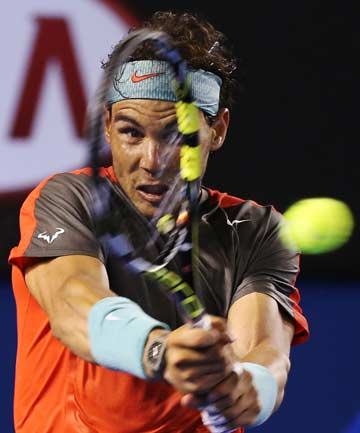 METICULOUS: A psychologist who specialises in OCD says Rafa Nadal's on-court routines should not be trivialised.