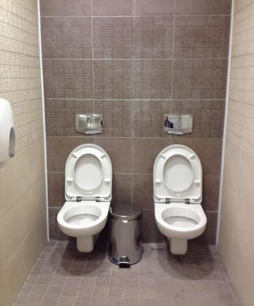 Sochi double toilets