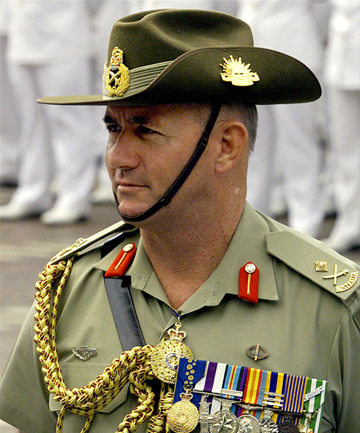 TOP ROLE: Peter Cosgrove is tipped to be Australia's next Governor General.