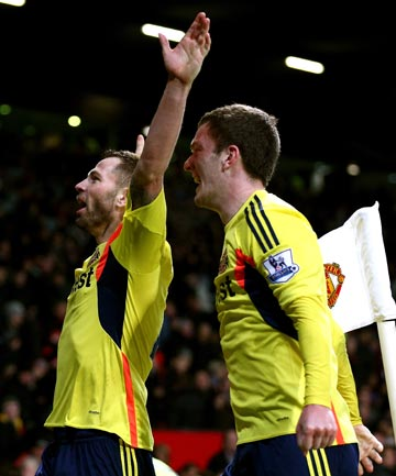 WOES CONTINUE: Sunderland beat Manchester United 2-1 in a penalty shootout to book a place in the English League Cup final.
