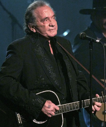 MUSIC GREAT: Johnny Cash.