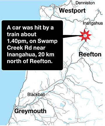 train crash west coast