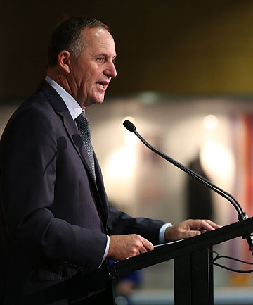 FIRST SHOT: Lifting standards in education is set to be a key plank of John Key's National's election campaign.