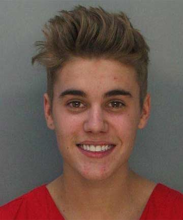 CHARGED: Canadian teen pop singer Justin Bieber shown in this booking photo provided by Miami Beach Police Department.
