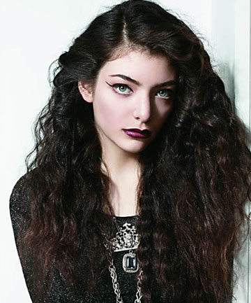 LORDE: 'I've always been into the idea of confidence'.