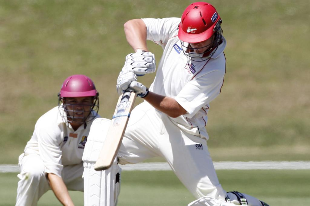 Corey Anderson in action for Canterbury as a 16 year old.