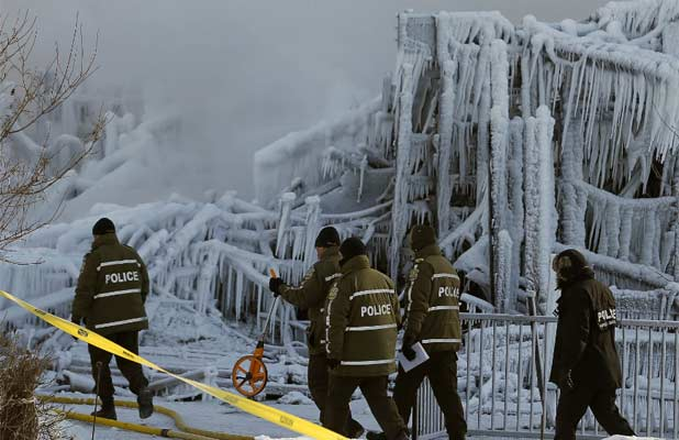 Quebec City fire