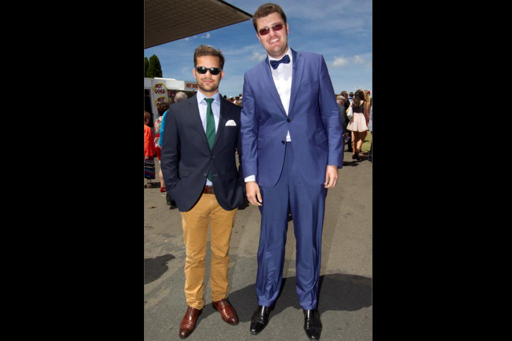 It's the first Wellington Cup for Leo Schlicht, 28, from Germany and Sergey Glagolev, 24, from Russia.