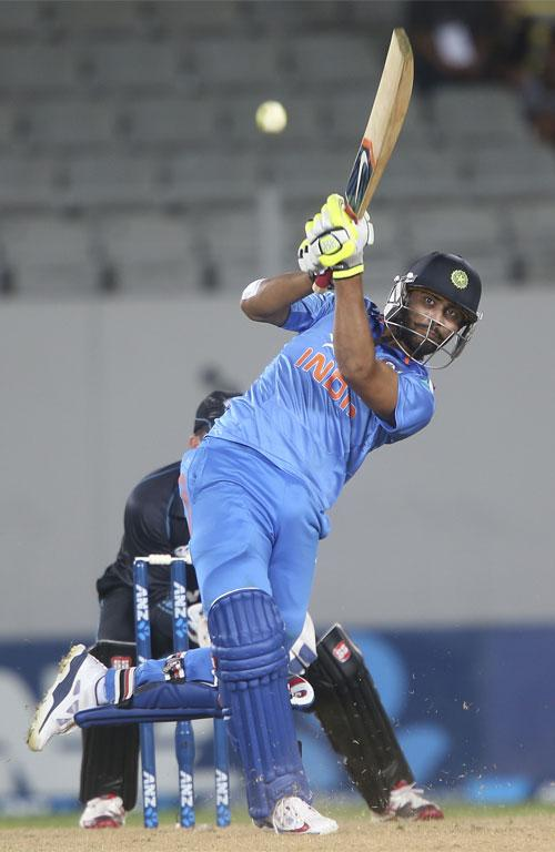 Ravindra Jadeja led India to the brink of a miraculous win in the third ODI at Eden Park.