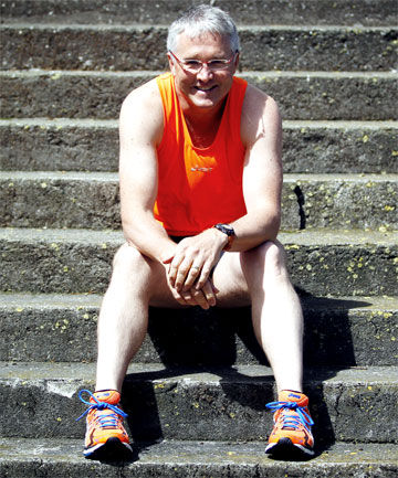 RUN FOR FUN: Hawera's Dean Pratt will run the ''six major'' marathons around the world this year.