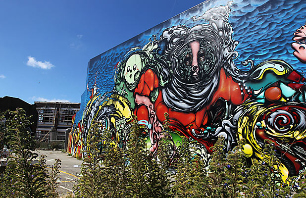 CITY SCAPE: Christchurch is slowly getting a little bit brighter.