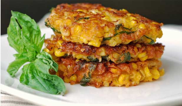 ON THE SIDE: Corn fritters