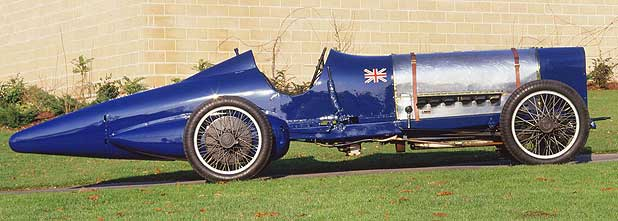 Sir Malcolm Campbell's Sunbeam 350hp