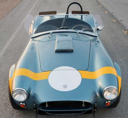 The 50th Anniversary Shelby 289 FIA Cobra.