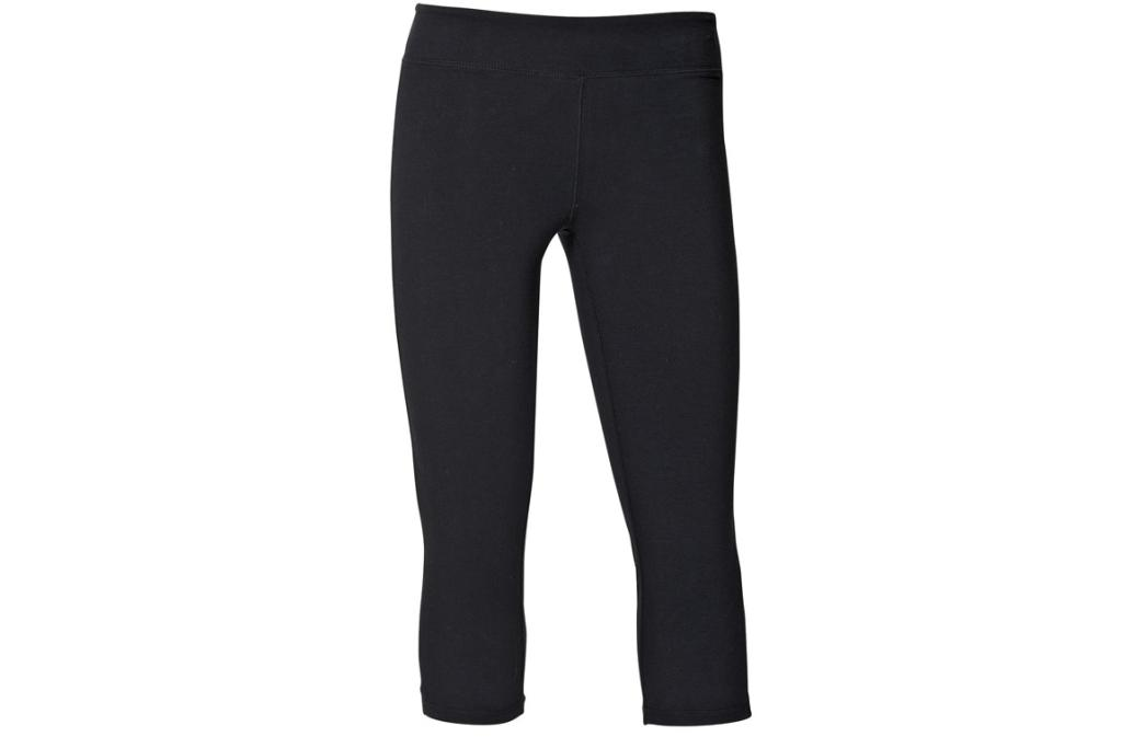 THE CAPRIS: Active Intent women's capris, $12 at The Warehouse. Once you've worked out in don't-get-in-your-way leggings, you'll never want to wear your old saggy, swingy jogging pants ever again.