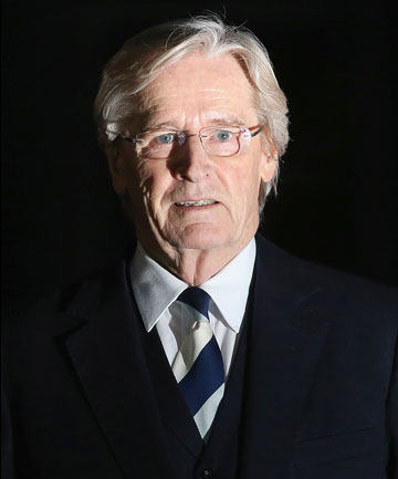 ACCUSED: William Roache leaves Preston Crown Court after taking the stand for the first time in his sex trial.