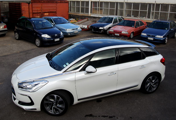 The New Citroen Ds5 Photos Motoring Stuff Co Nz
