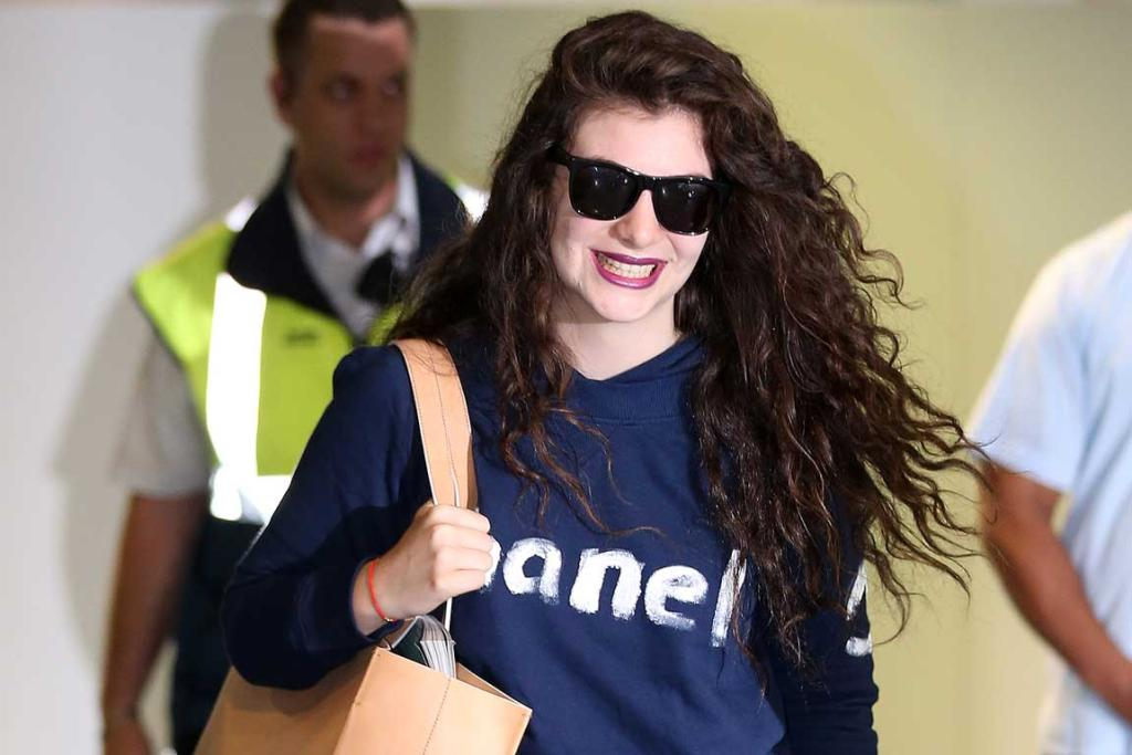 Double Grammy winner Lorde has arrived back in Auckland his morning.
