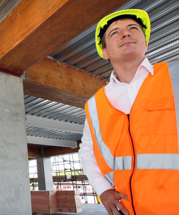 TENANT TROUBLES: Ashton Owen warns there may not be good uptake for completed office space in Christchurch's CBD.
