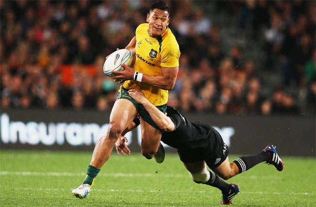 'We would have loved to have brought him over': says Rennie of Israel Folau.