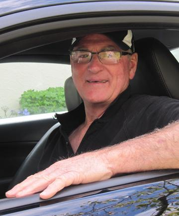 Bruce Thacker was determined to own a Mustang ever since he first laid eyes on one.