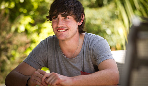 RECOVERING: A month on from a serious crash at Manfield, Ethan Rees is on the road to recovery.