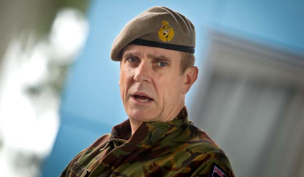 TOP JOB: Tim Keating, the new head of the NZ Defence Force.