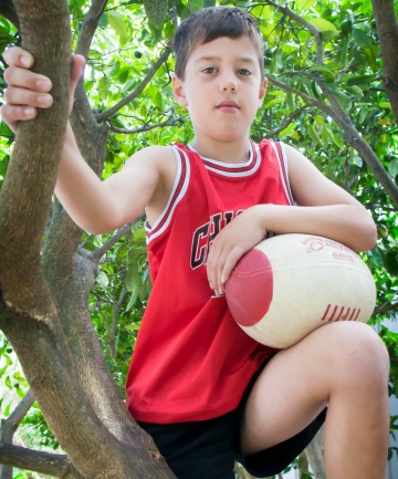 Palmerston North boy Mason Jeffery was diagnosed with the rare Perthes disease