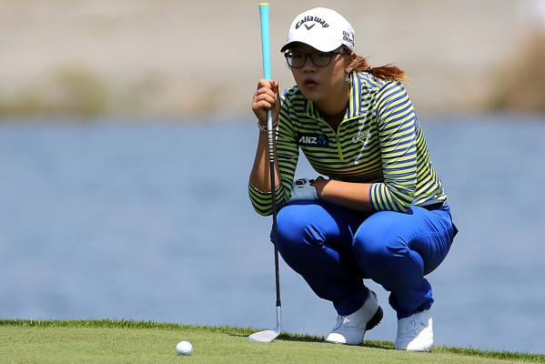 Lydia Ko in action