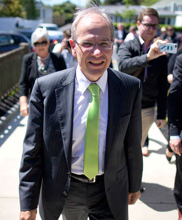 BLIND TRUST: Len Brown's spin doctors defend his election funding.