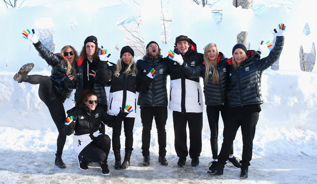 New Zealand winter olympic team