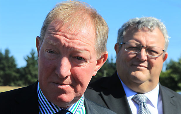 Nick Smith and Gerry Brownlee